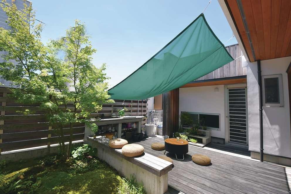 桂建設【浜松市東区天王町1930・モデルハウス】『桂建設』では家と庭を一緒に提案。庭を設けることで見栄えも楽しさも倍増する