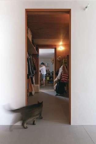 建杜 KENT(大栄工業)|キッチンと洗面脱衣所の間はファミリークローゼット
