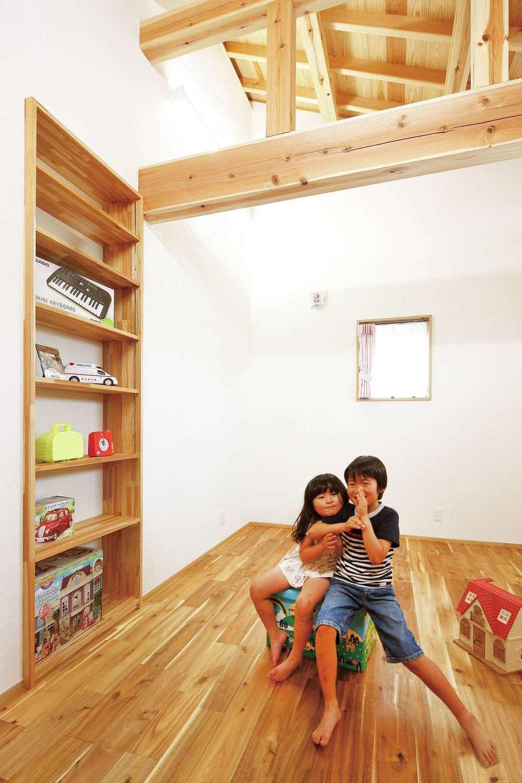 浅井住宅【和風、趣味、自然素材】本物の自然素材でつくった部屋で、子どもたちは健やかに育つ