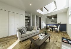 デザインと使いやすさを兼ね備えたシンプルモダンな家