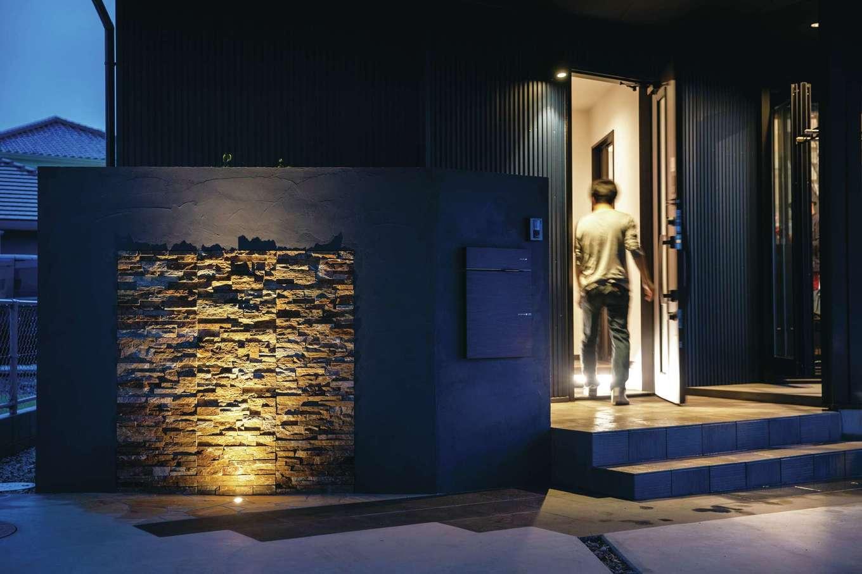 未来創建【デザイン住宅、省エネ、ガレージ】照明計画にもこだわった