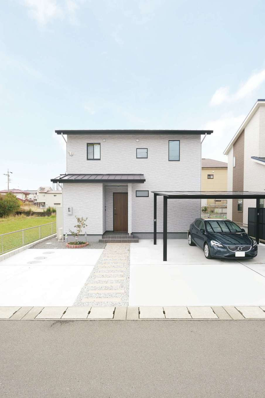 外張り断熱とパッシブデザインで、省エネ&年中快適な家を実現