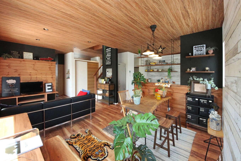 illi-to design 鳥居建設21【デザイン住宅、趣味、インテリア】こだわりのリビングインテリアでおしゃれな空間を演出