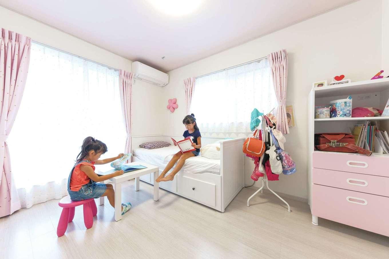 東海ハウス【デザイン住宅、1000万円台、間取り】「いずれ必要になるから」と子ども部屋は最初から個室で用意