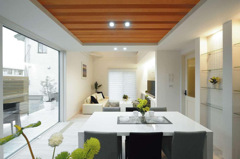 朝日住宅【浜松市東区笠井町982-1・モデルハウス】まるでリゾートホテルのようなデザイン性と、全館空調を生かす快適空間が融合