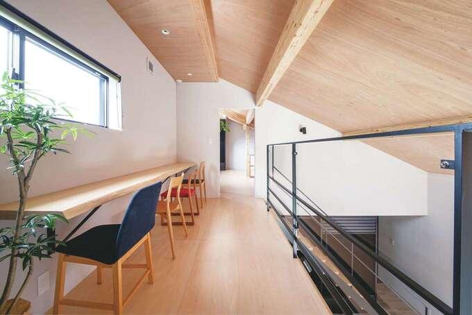 家族の変化に応じて 使い分けできる屋根裏空間
