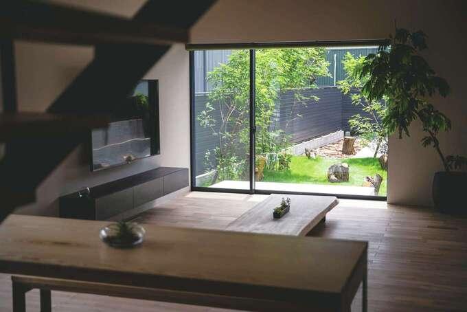 窓からの景色までこだわり 内と外をトータルデザイン