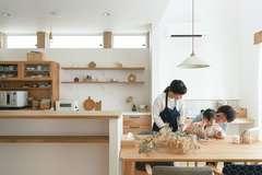 心地よい住環境に 大好きな雑貨が並ぶ 心も体も喜ぶ家