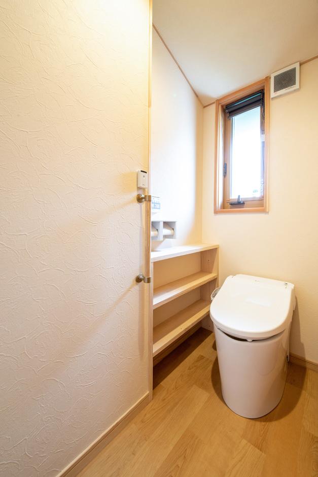 瀧口建設|夫婦2人で暮らす平屋でありながら、2つ設置したトイレ