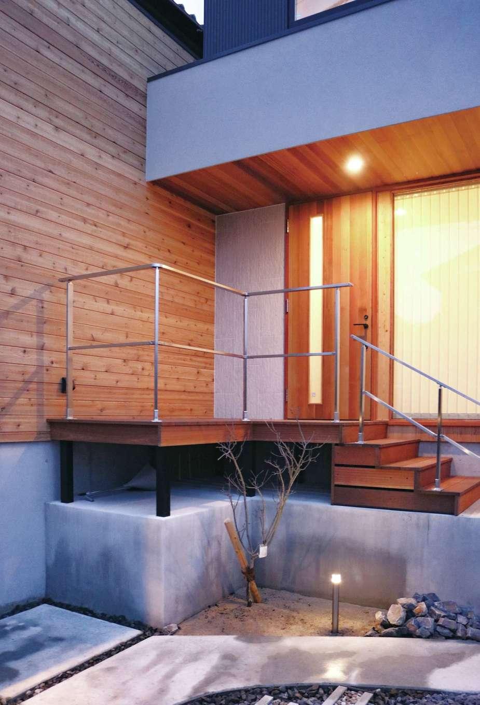 共感住宅 ray-out (レイアウト)【デザイン住宅、子育て、自然素材】照明計画など暮らしを楽しくする演出も同社ならでは