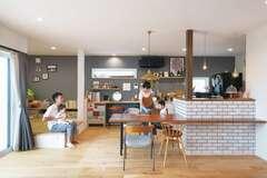 夫婦の「好き」を一杯詰め込んだカフェスタイルの家