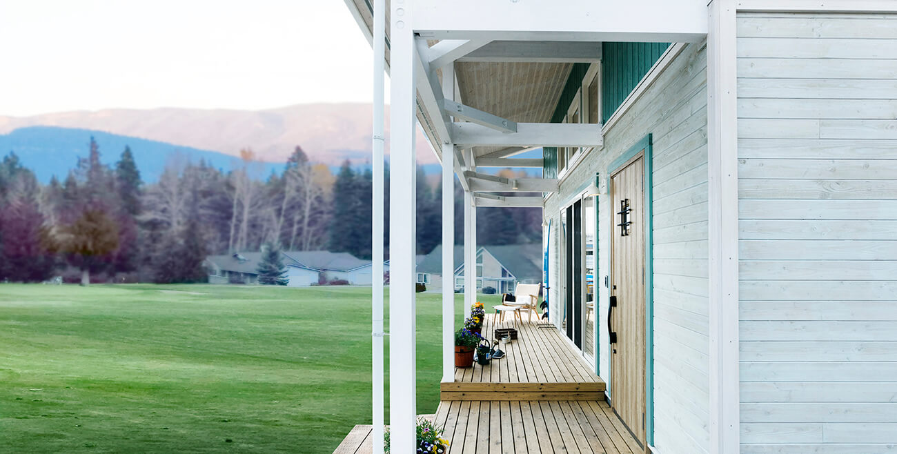 高性能でありながら、 木を楽しめる長期優良住宅