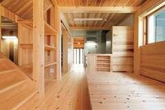 美しい、ほっとする、暮らしやすい 大工の技と無垢の魅力が響く家
