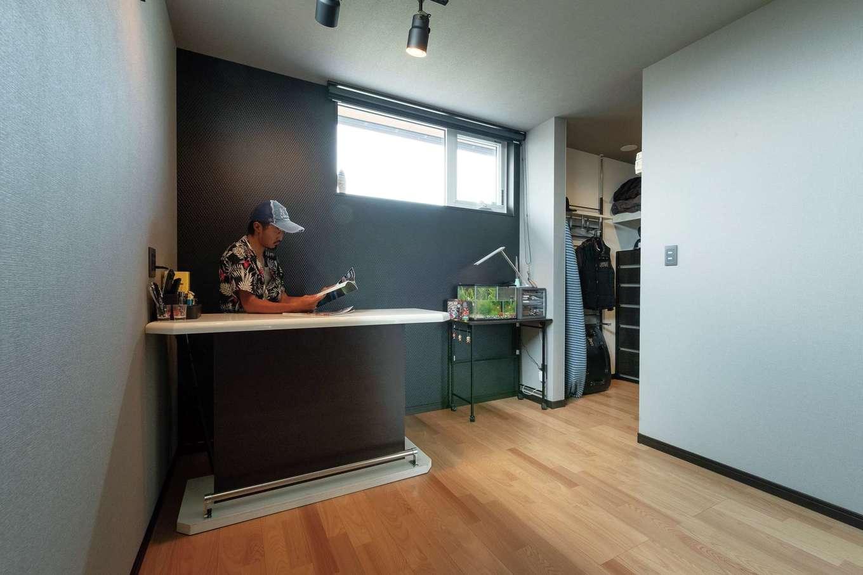共栄住研【省エネ、間取り、建築家】長男・長女の個室はそれぞれウォークインクローゼットつき