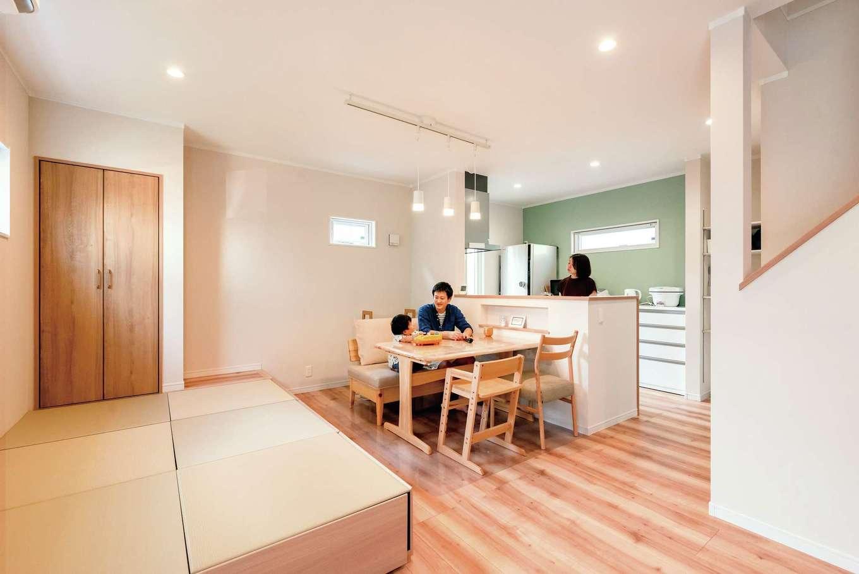 irohaco (アヴァンス)【1000万円台、子育て、間取り】家族がどこにいても様子が見える場所にキッチンを配置