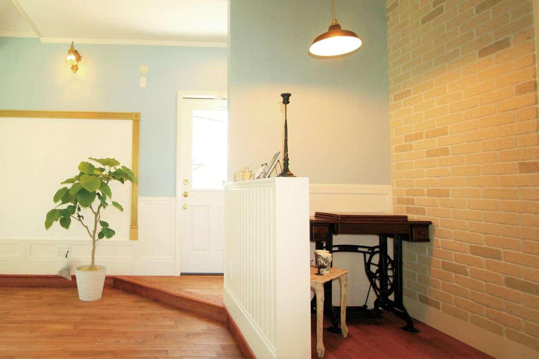 スカイグラウンド【デザイン住宅、輸入住宅、インテリア】これからの時代、お家時間を楽しむ空間が必要。カフェコーナーはそんなゆとりの空間