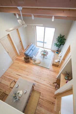 適量・適所の収納スペースでシンプルな暮らしが実現