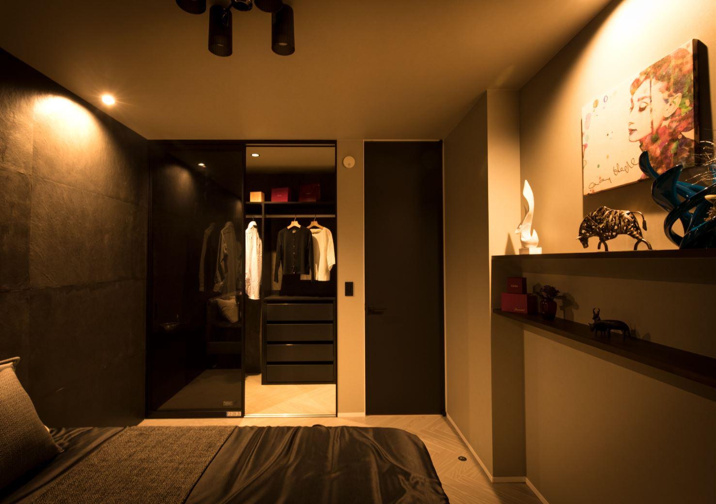REIWA HOUSE(令和ハウス)【浜松市中区葵西2-18-21・モデルハウス】暮らしのオアシスとなるベッドルーム