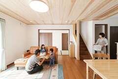 間取りの工夫で快適に暮らす 性能も妥協しない木の家