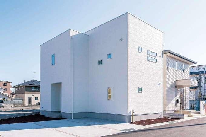 1,000万円台で叶うデザインハウス。ローコストなのに完全自由設計の17シリーズ