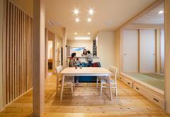 昭和の家を令和の家に一新したフル・リセット住宅