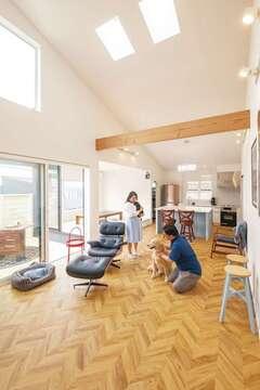 実績200棟の結論! 住宅アドバイザーの平屋リビング