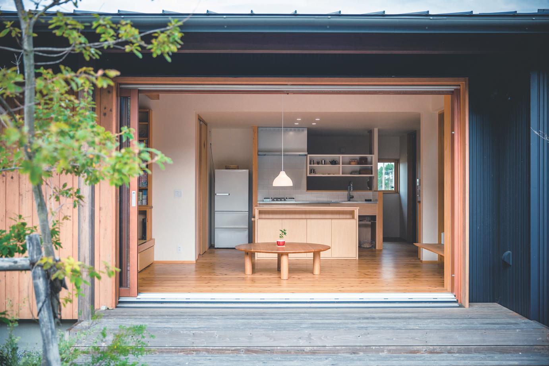 ぴたはうす 安食建設【和風、間取り、平屋】家の中を柔らかな光と風が通り抜け、四季を通して快適に暮らせる