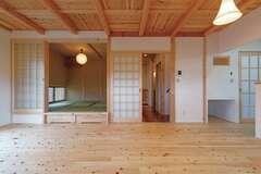 木の美しさを引き出す技術に シンプルな心地よさが香る家