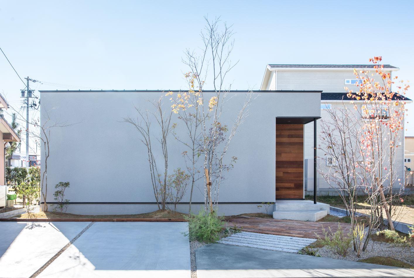 S.CONNECT(エスコネクト)【浜松市浜北区中瀬(詳しい住所はご予約後ご案内いたします)・モデルハウス】シンプルですっきりとした箱型の平屋