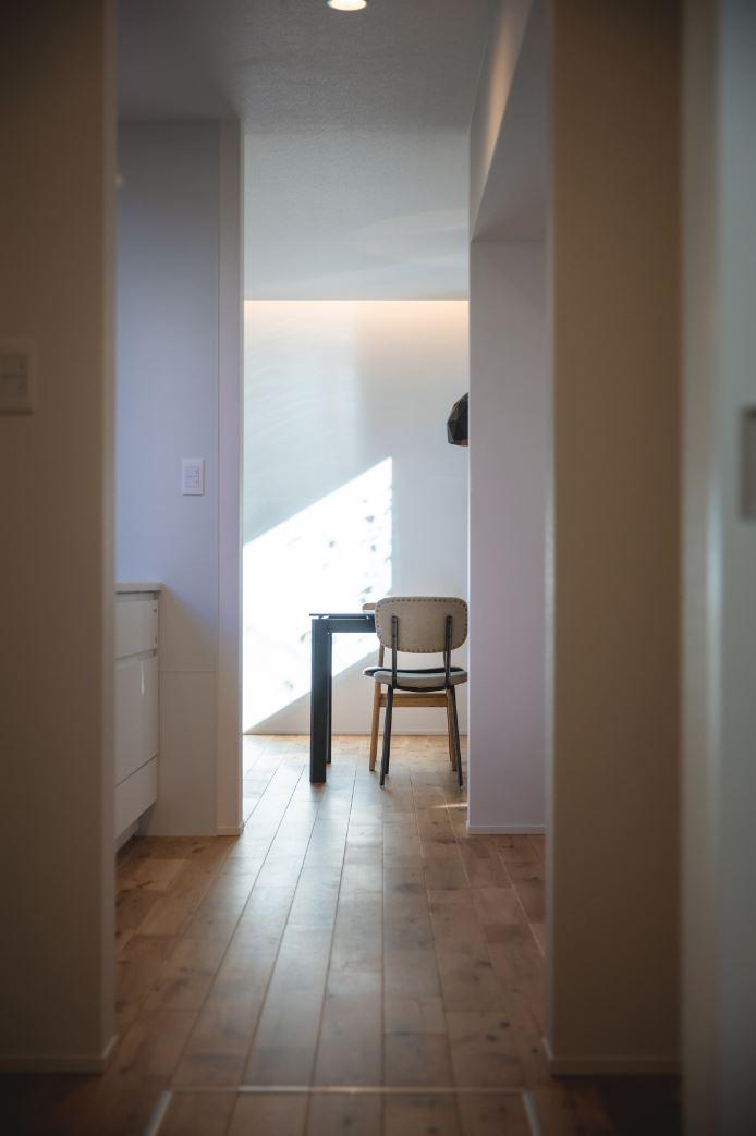 S.CONNECT(エスコネクト)【浜松市浜北区中瀬(詳しい住所はご予約後ご案内いたします)・モデルハウス】家中をぐるりと回遊できるので、生活上の移動や家事が格段に便利
