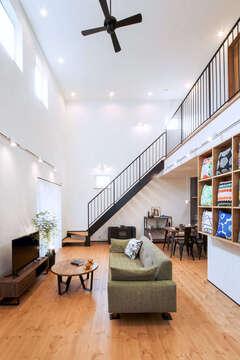 30年先もカッコいい黒塗り&オール自然素材の家