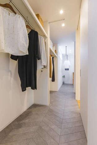洗濯の動線を最短距離にして家事ラクを実現!