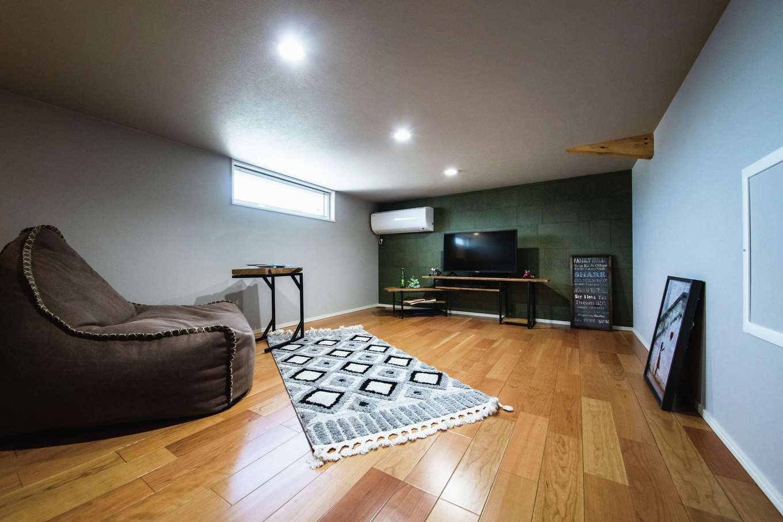 Yamaguchi Design 【磐田市見付1853-19・モデルハウス】7畳の小屋裏スペース。趣味部屋やリモートワーク用の書斎にも最適。天井高1,400mmで、固定資産税の対象にならないボーナス空間がうれしい♪
