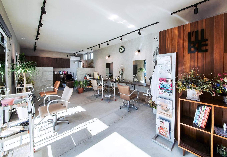 S.CONNECT(エスコネクト)【デザイン住宅、趣味、建築家】『エスコネクト』のデザイン性の高さがあるからこそ実現できた、店舗スペース