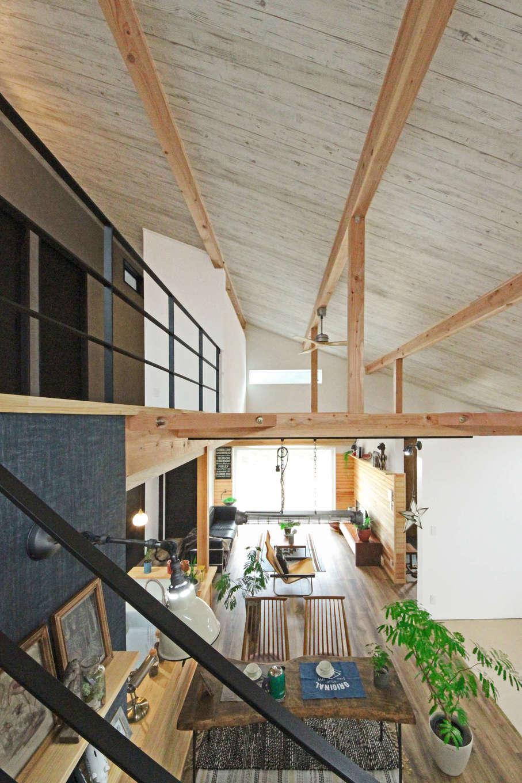 illi-to design 鳥居建設21【デザイン住宅、省エネ、間取り】地熱利用の換気システムにより家中を常にクリーンな空気が循環している。