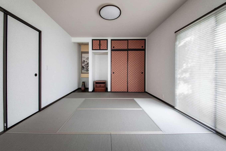 ほっと住まいる|趣味の部屋の奥にある和室は、仏間兼寝室として使っている