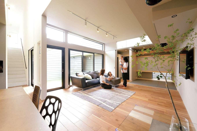 住み始めてからもワクワク感が続く建築家とつくる家