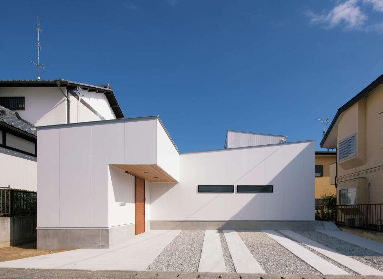 MABUCHI【デザイン住宅、間取り、建築家】見た瞬間、建築家がつくった家とわかる外観がお気に入り
