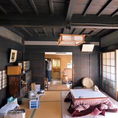 江戸時代から住み継がれてきた家だけに、天井を開けてみないと、柱と梁がどういう状態になっているのかわからない態だった。使える木材も多く、改めて天然木の耐久性を実感したそう