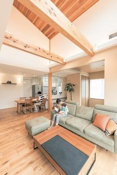 全館空調システムで叶った 住み心地満点の二世帯住宅
