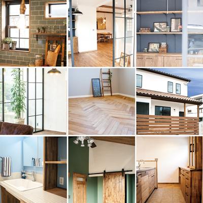 静岡市 クローバーハウス 自然素材 漆喰 おしゃれな家 工務店