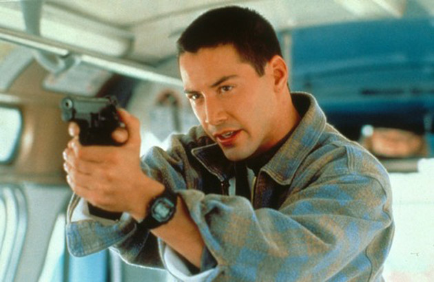 「keanu reeves speed g shock」の画像検索結果