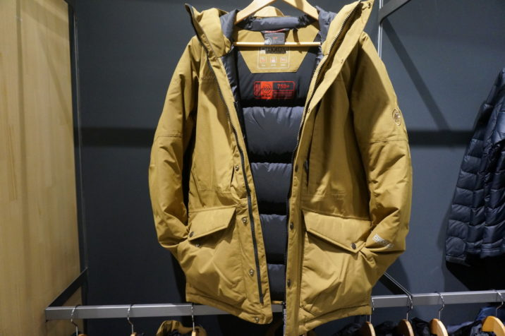 Drytech Prime Down Coat 中