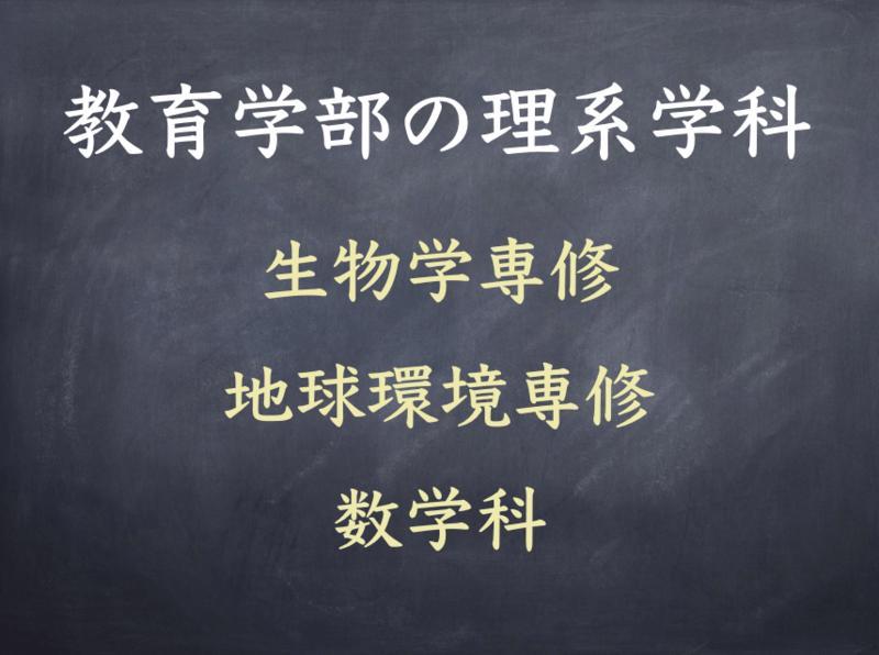 早稲田大学教育学部の理系学科