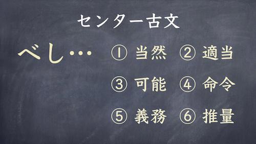 センター古文 文法の重要性