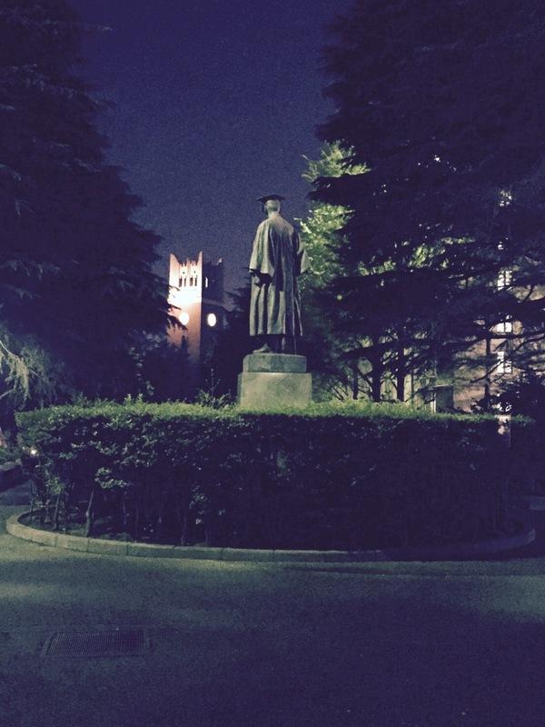 早稲田キャンパスの大隈銅像