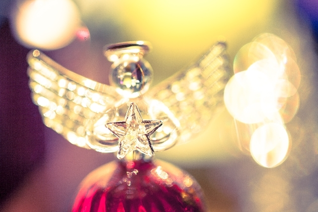 ガラスの天使の写真