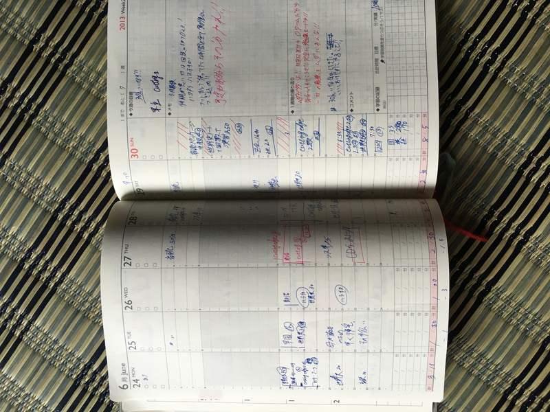 やる気を保つ手帳の技