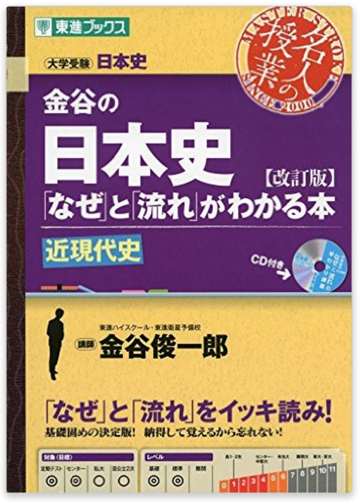 金谷の日本史 なぜと流れがわかる本