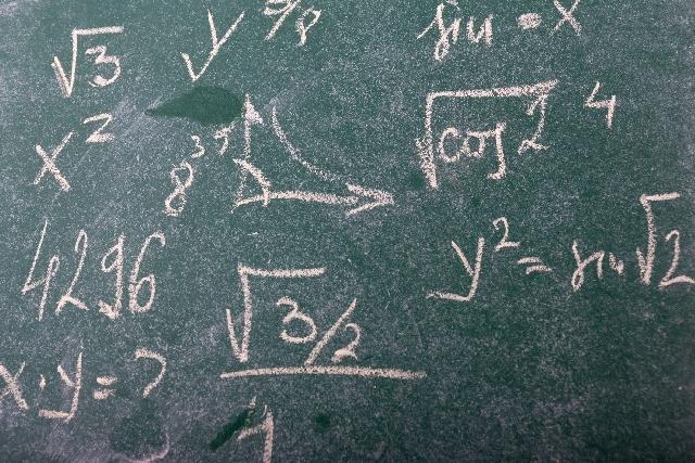 数学の公式を暗記する